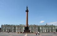 Saint Petersburg Alexander Column square
