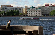 Saint Petersburg Neva river boat tour
